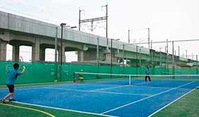 テニススクールメジャーコート